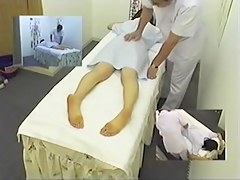 Skinny Asian broad enjoys a massage on close by nearly camera