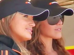 Candid thick ass video be incumbent on three drop dead gorgeous racing models