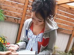 An adrenalizing downblouse video be advantageous to juicy Asian naughty pillows