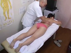 Iatrical voyeur porn with dirty masseur fucking Asian