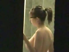 Neighbor voyeur video of the sexy girl next dorr