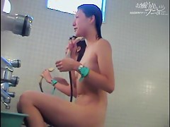 Hidden cam shower girls expose their Asian nudity dvd 03011