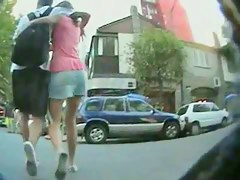 Close-ups streets upskirts of really hot teen girlfriends