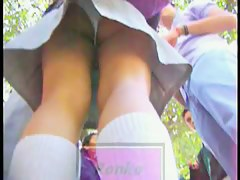 Sexy and naughty English schoolgirls upskirts