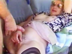 Aged wife drilled hard in a van outdoors spouse films - XT