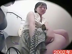 Girl slid hand up the skirt for hidden spy cam masturbation