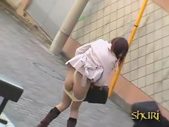 Sharking video recorded in public on the streets of Japan