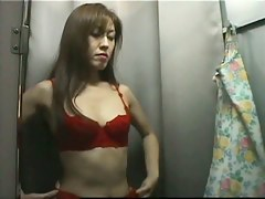 Hot asian chick hidden dressing room video