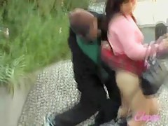 This hot skirt sharking video caught a cute girl off guard