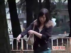 Schoolgirl got her ass stretched by a skirt sharker