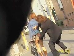 Lady in the longer skirt got shuri sharked on the street