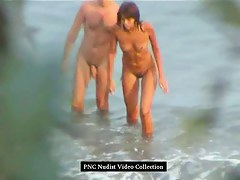 Hidden beach camera makes some quality shots of nude girls