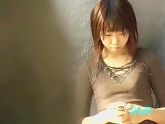 Sperm sharking video featuring an adorable Japanese girl