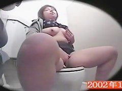 Chubby amateur bares off boobs and fingers cunt on spy cam