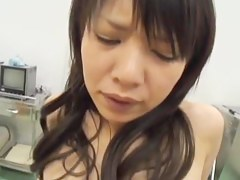 Delicious Japanese banged during a hot pussy exam session
