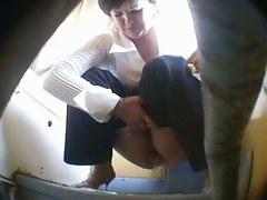 Lots of hot chicks caught on hidden piss cam