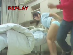 Sweet Japanese teen willingly shakes her ass after sharking