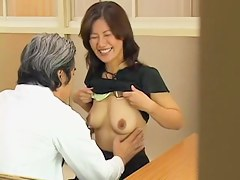Horny Jap MILF gets crammed hard in Japanese sex video