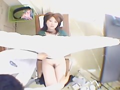 Exquisite curvy Jap babe drilled during her pussy exam