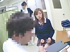 Hidden voyeur cam shoots schoolgirl