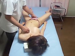 Japanese cutie drilled in hidden cam massage video